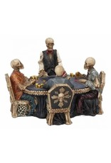 Nemesis Collectables - Pokertafel met Skeletten End Game Nemesis Now