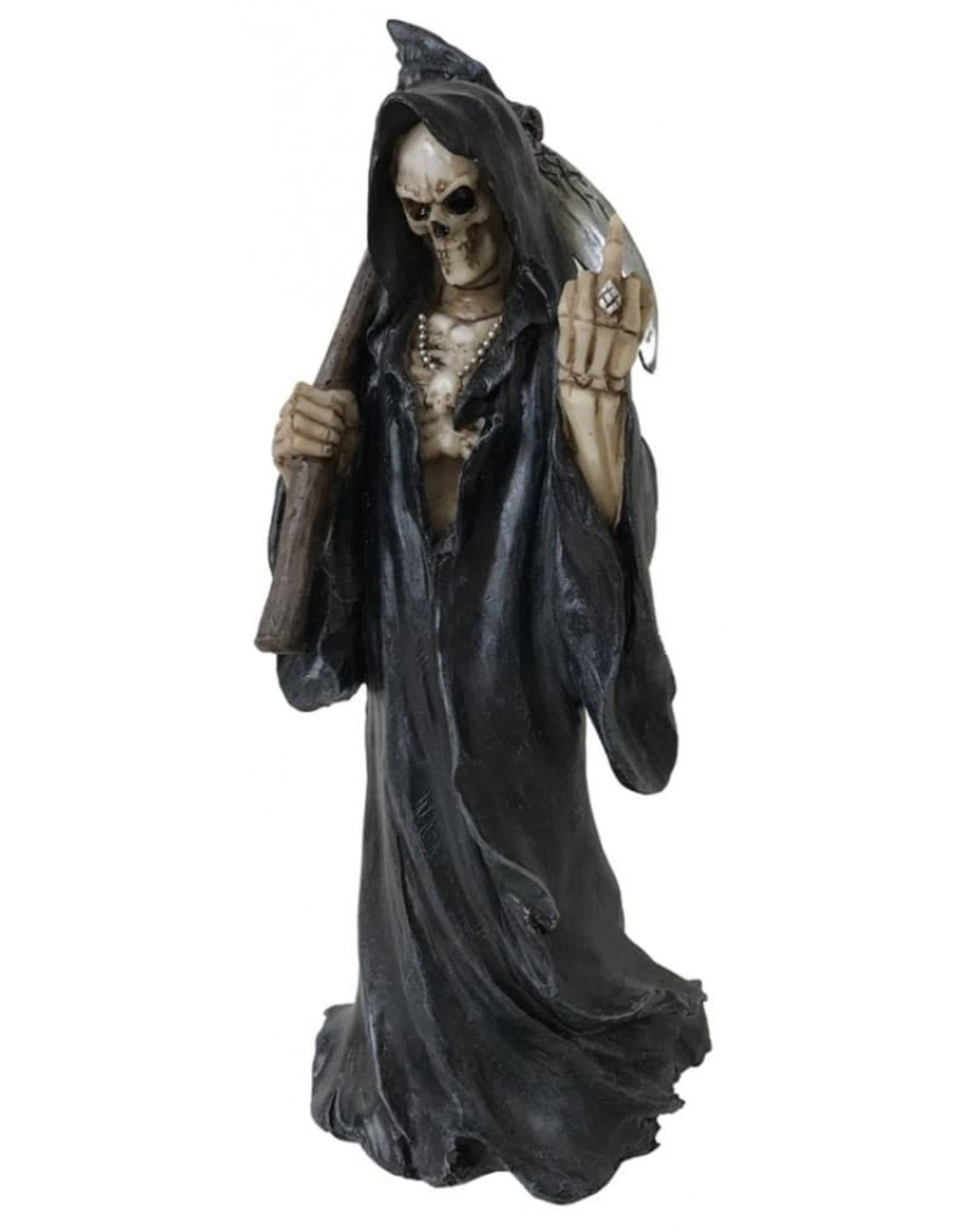 Alator Collectables - Death Wish Figurine The Reaper with middle finger - Nemesis Now