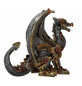 Alator Steampunk Draak Mechanical Protector Nemesis Now