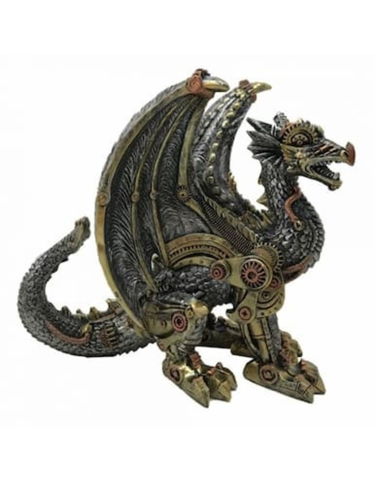 Alator Collectables - Steampunk Dragon Mechanical Protector Nemesis Now
