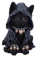 Alator Giftware en Beelden - Kattenbeeldje Reapers Feline 16cm - Nemesis Now