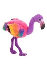 Toys - Flamingo pluche Rainbow purple