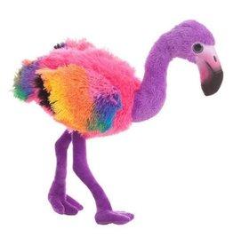 Flamingo pluche Rainbow purple
