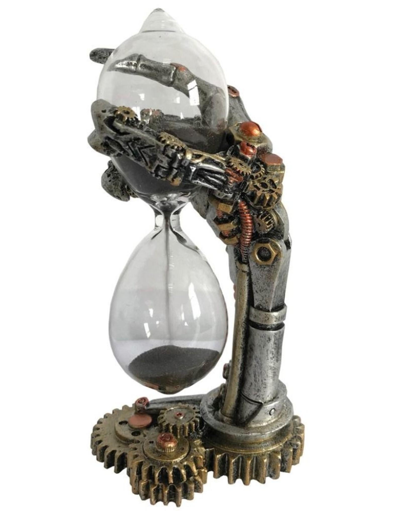 Alator Gothic accessoires Steampunk accessoires - Steampunk Zandloper Time after Time - Nemesis Now