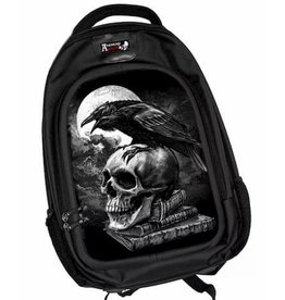 Alchemy 3D Gothic backpack Poe's Raven (large) - Alchemy