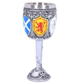 Alator Goblet of the Brave Scottish Shield - Nemesis Now