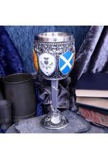 Alator Tankards and Goblets - Goblet of the Brave Scottish Shield - Nemesis Now