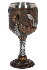 Nemesis Now Bekers en Kelken - Kelk Valhalla Viking Dragon Boat - Nemesis Now