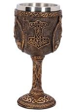 Nemesis Now Bekers en Kelken - Kelk Thor Noorse God van de Donder - Nemesis Now
