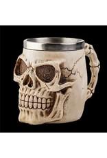 Bekers en Kelken - Gothic drinkbeker Schedel (naturel)