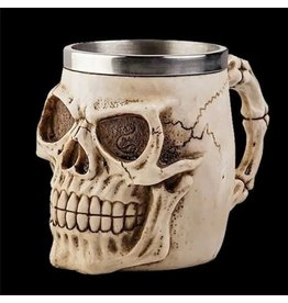 Dark Desire Gothic tankard Skull (natural color)
