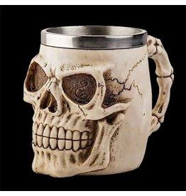Gothic drinkbeker Schedel (naturel)