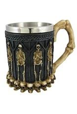 Dark Desire Bekers en Kelken - Gothic Drinkbeker met Skeletten