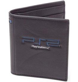 Sony Playstation 2 portemonnee met geborduurd logo