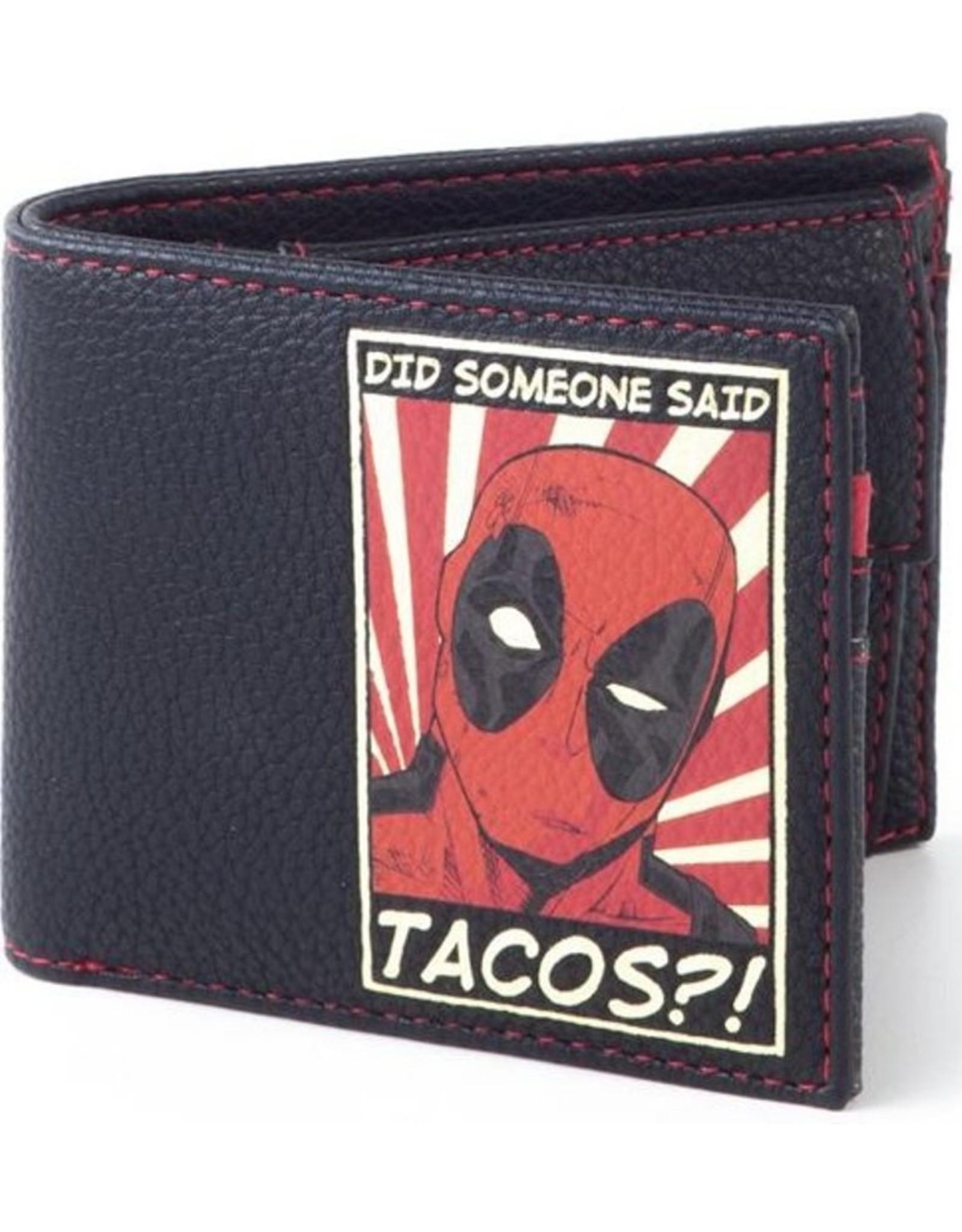Difuzed Merchandise portemonnees -  Marvel Deadpool Tacos portemonnee