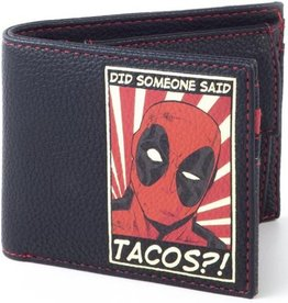 Difuzed Marvel Deadpool Tacos portemonnee