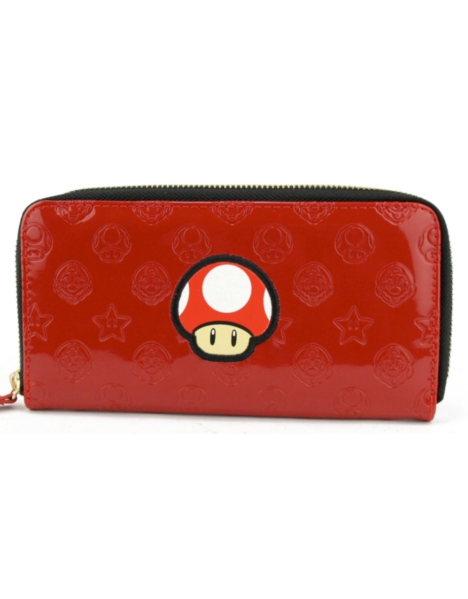 Nintendo Merchandise portemonnees - Nintendo Super Mario Mushroom portemonnee