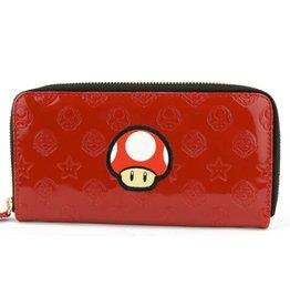 Nintendo Nintendo Super Mario Mushroom wallet