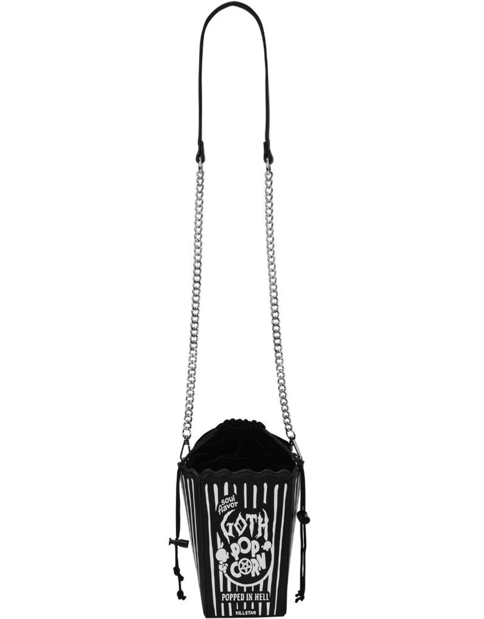 Killstar Gothic bags Steampunk bags - Killstar Goth Popcorn handbag