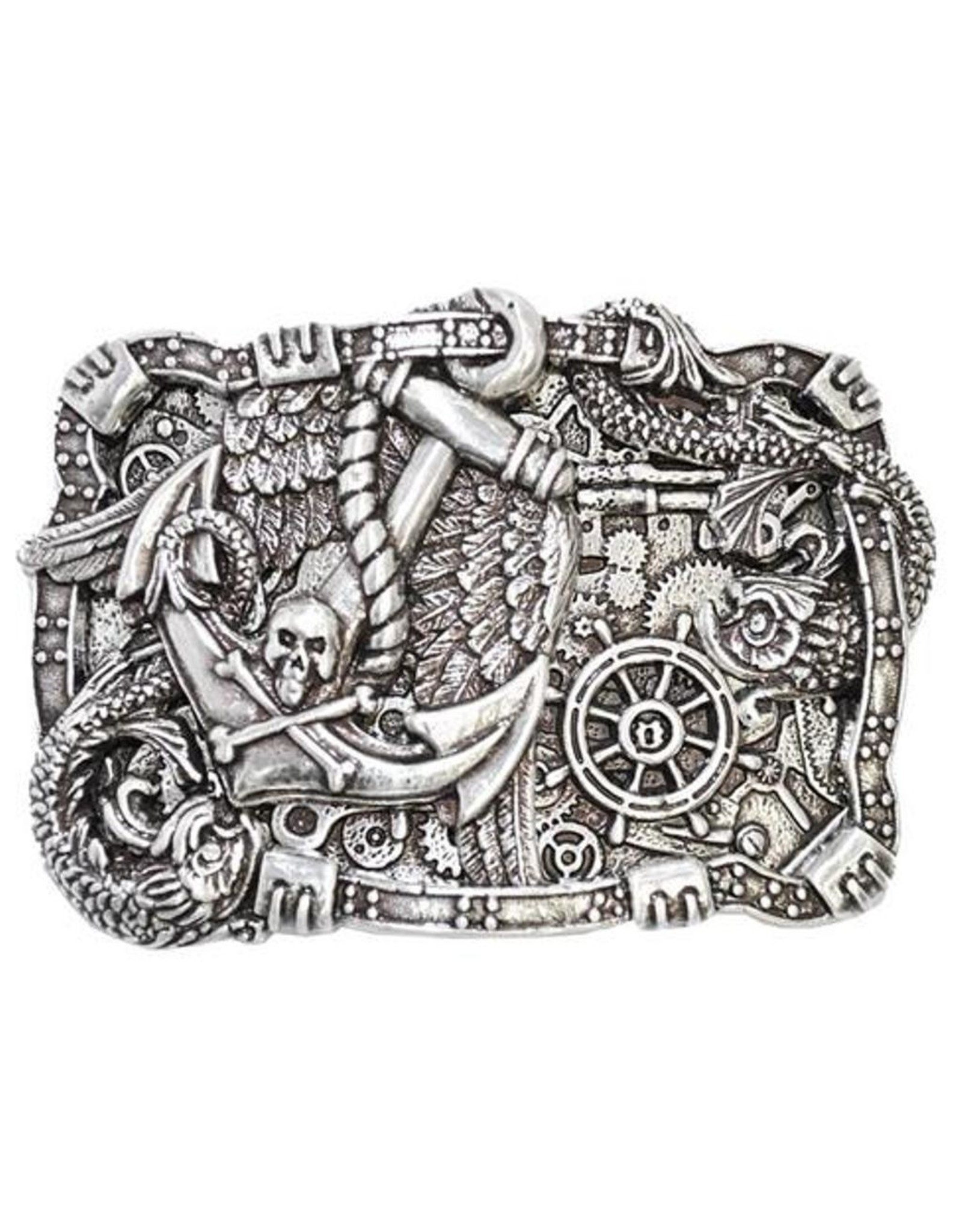 """Acco Leather belts and buckles - """"Buckle On The Sea"""""""