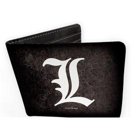 abysse corp Death Note L symbol wallet