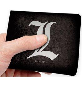 abysse corp Death Note L symbol portemonnee