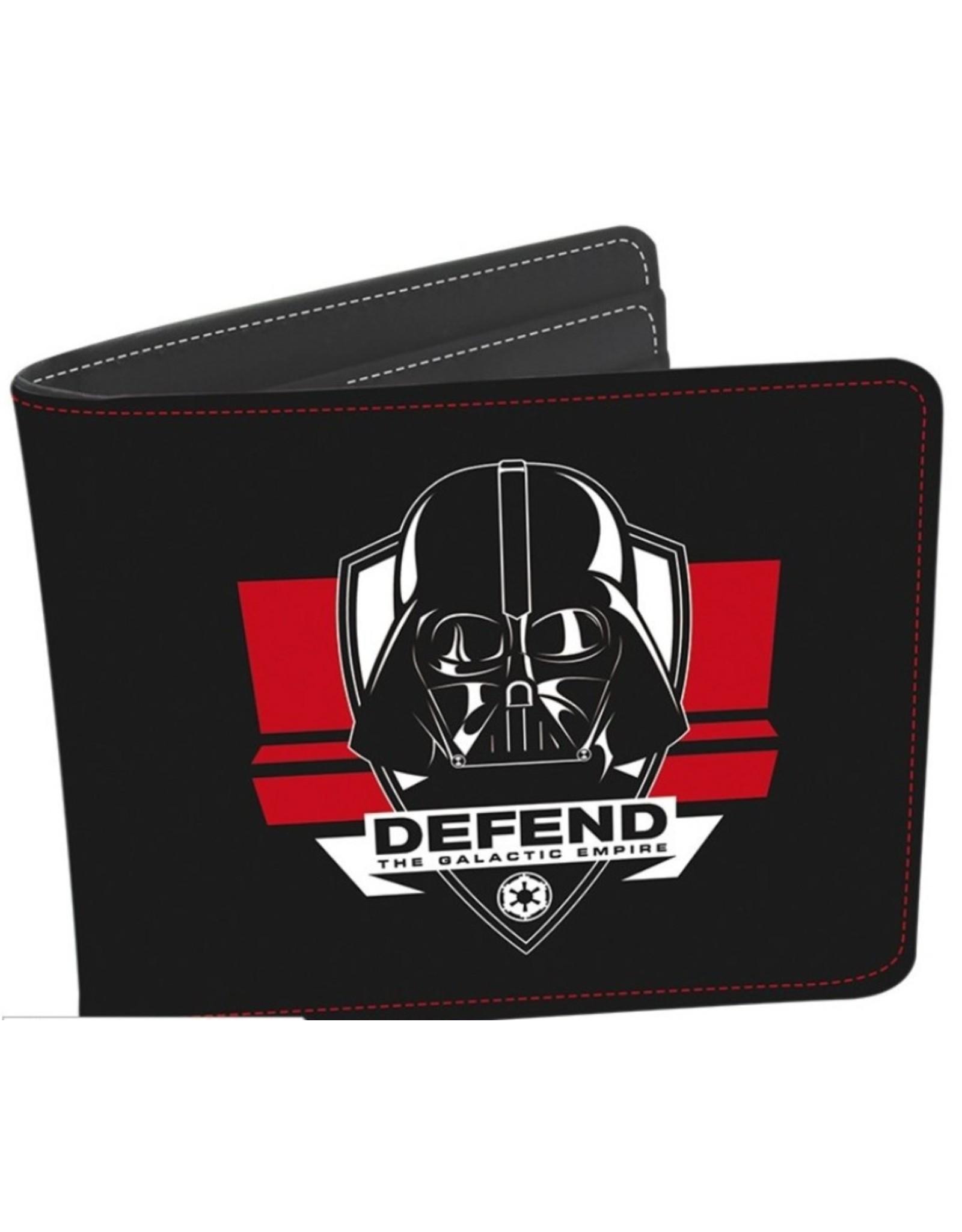 Star Wars Merchandise portemonnees -  Star Wars Darth Vader portemonnee + sleutelhanger