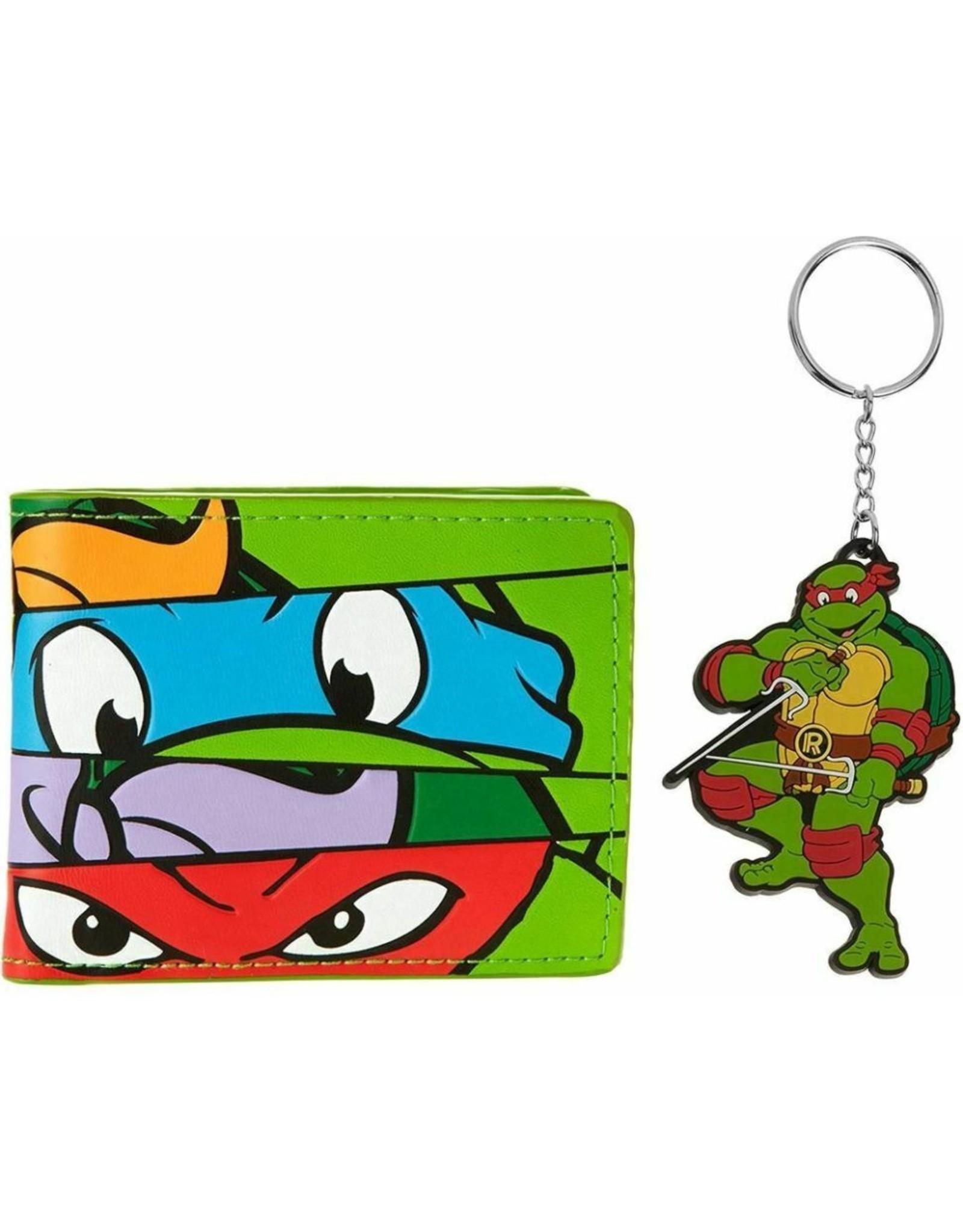 Difuzed Merchandise wallets -  Ninja Turtles - Giftset Wallet and Keychain