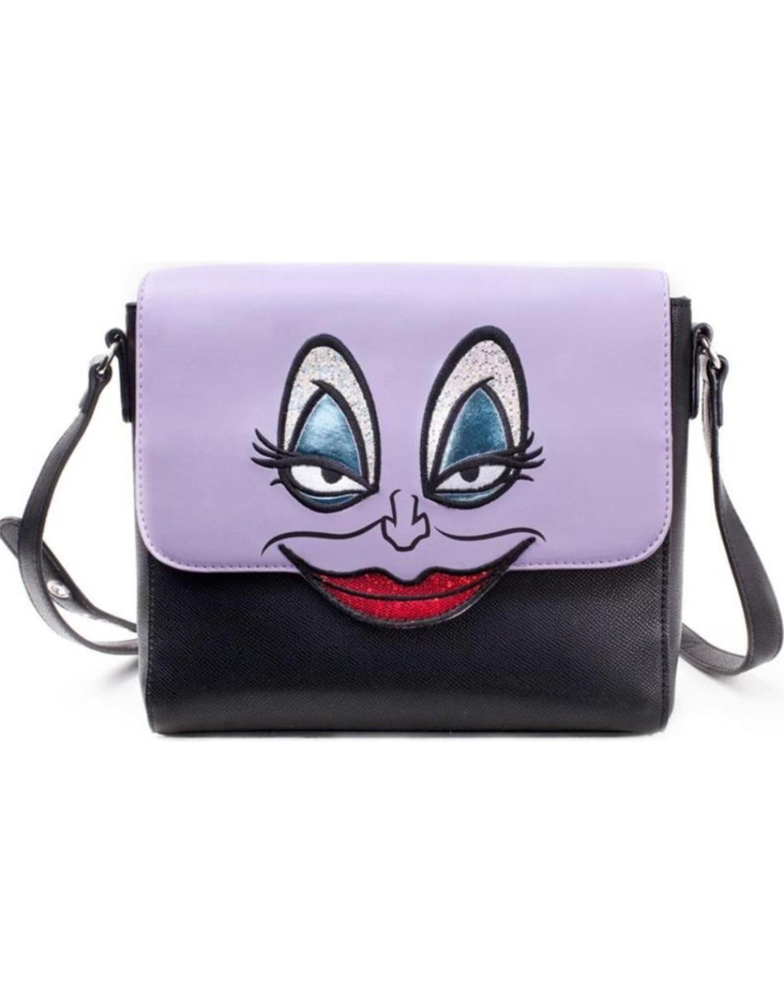 Disney Merchandise bags - Little Mermaid Ursula face Disney shoulder bag
