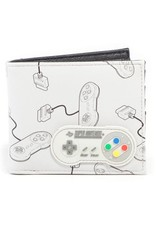 Nintendo Merchandise wallets - Nintendo Controller wallet with rubber patch
