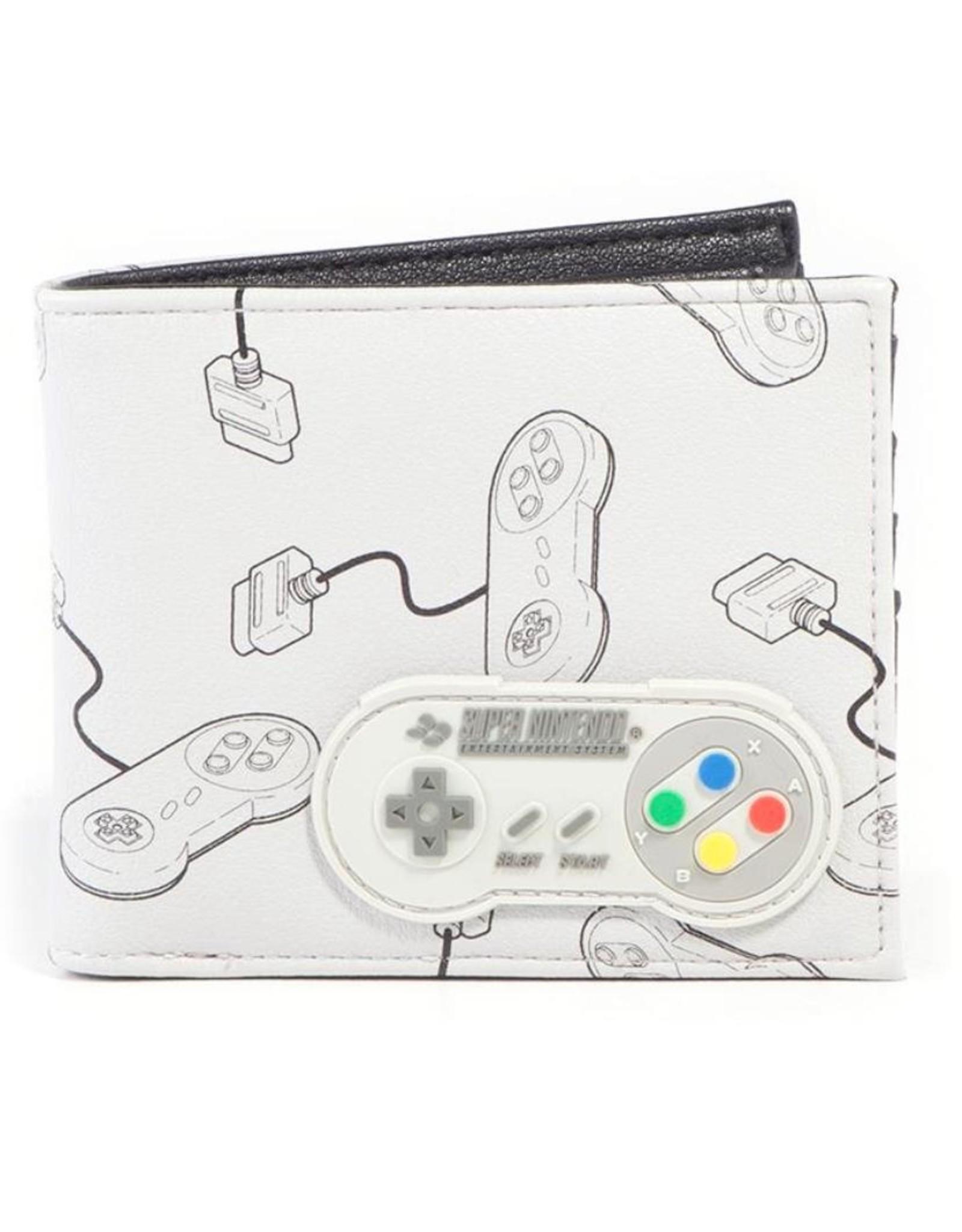 Nintendo Merchandise portemonnees -  Nintendo Controller portemonnee met rubberen patch