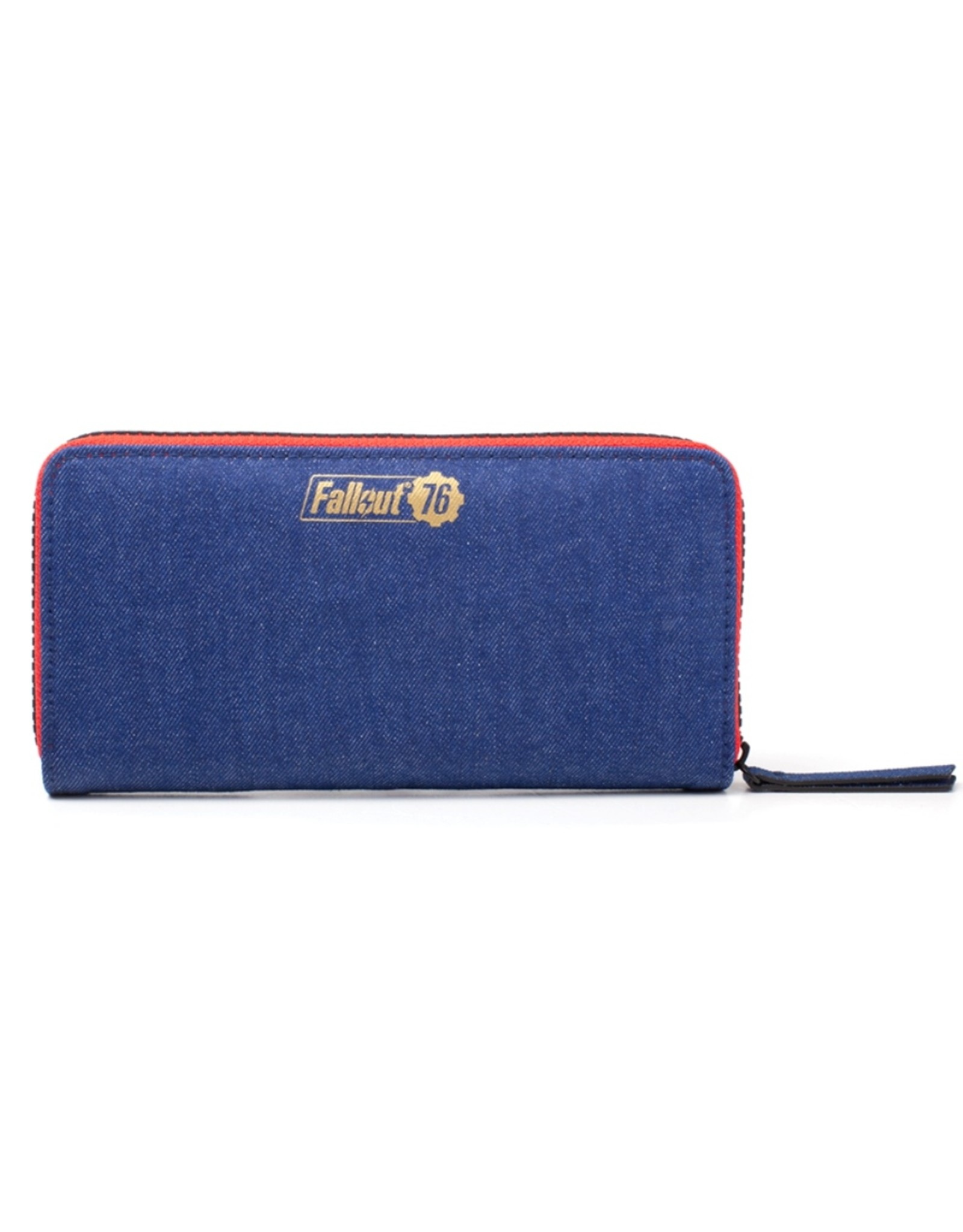 fallout Merchandise wallets - Fallout Vault 76 Denim wallet with patches