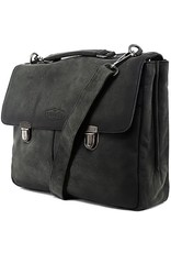 """Sparwell Leather laptop bags - Sparwell Lather Briefcase Santiago 15.5"""" - Sabbia"""