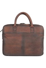 "Sparwell Leather laptop bags - Sparwell Leather Briefcase Silas 15,5"" - Sabbia"