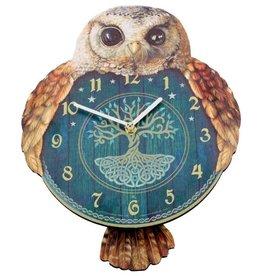 Nemesis Now Hootin' Tickin' Owl Pendulum Clock Nemesis Now