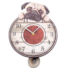 Nemesis Now Puggin' Tickin' Dog Pendulum Clock Nemesis Now