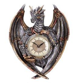Alator Steampunk Draak Wandklok Dracus Horologium Nemesis Now