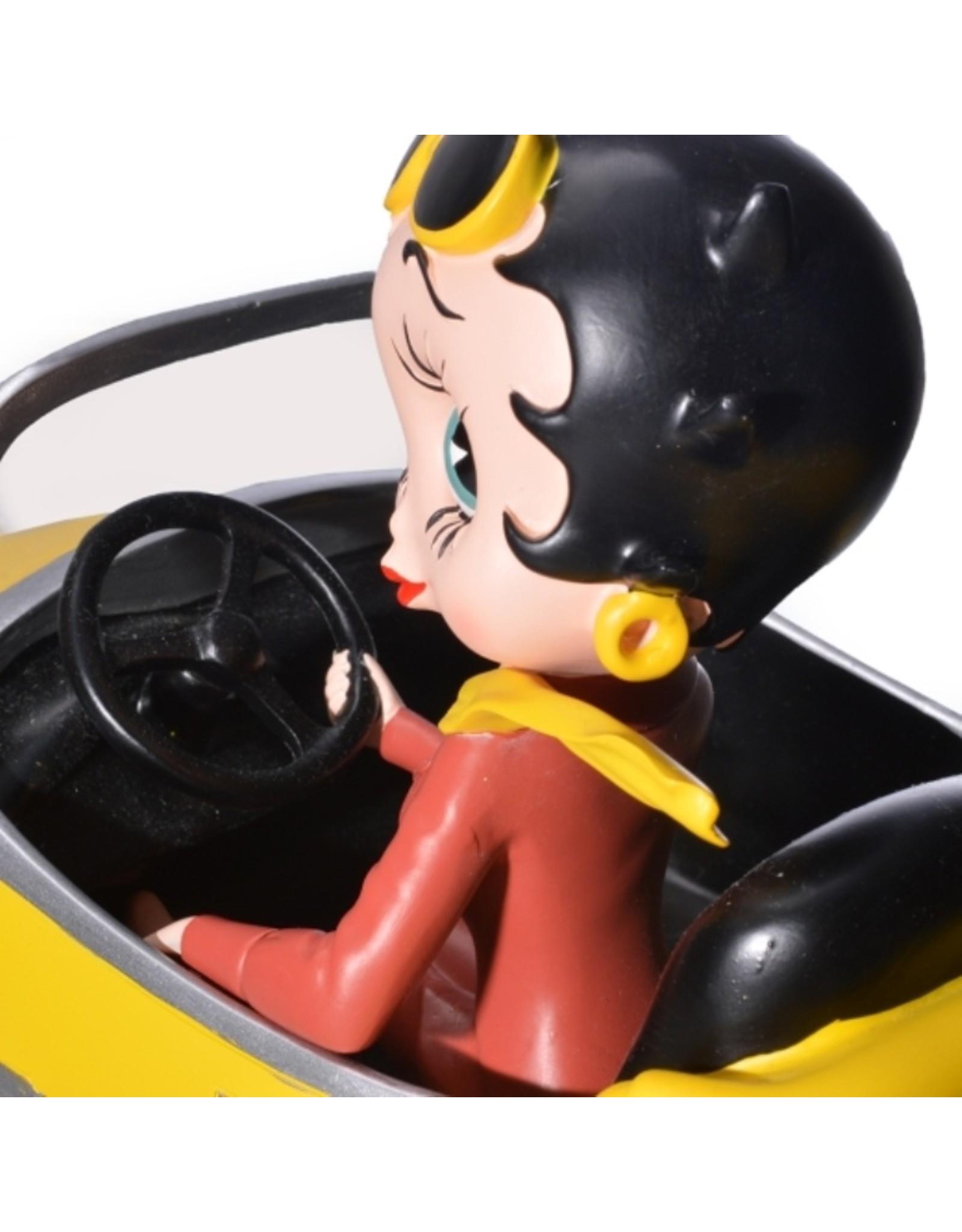 Betty Boop Betty Boop Collectables - Betty Boop in Yellow Sports Car