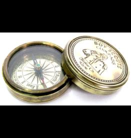jj vaillant Boy Scouts Compass (brass)