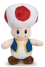 Nintendo Merchandise pluche en figuren - Mario Bros Toad pluche pop 30cm