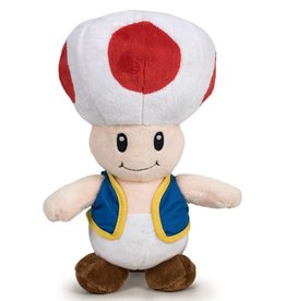 Nintendo Mario Bros Toad plush toy 26cm