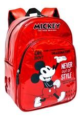 Disney Disney tassen - Mickey 90 Jaar Holografische Disney rugzak 40cm