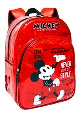 ToyBags Disney bags - Mickey 90 Years Holographic Disney backpack 40cm
