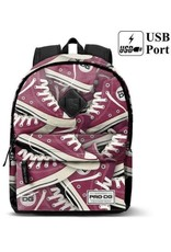 Pro-DG Backpacks and fanny bags - Backpack with Tracks print Pro-DG