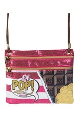 Oh my Pop! Fantasy bags and wallets - Oh My Pop! Chocolate shoulder bag