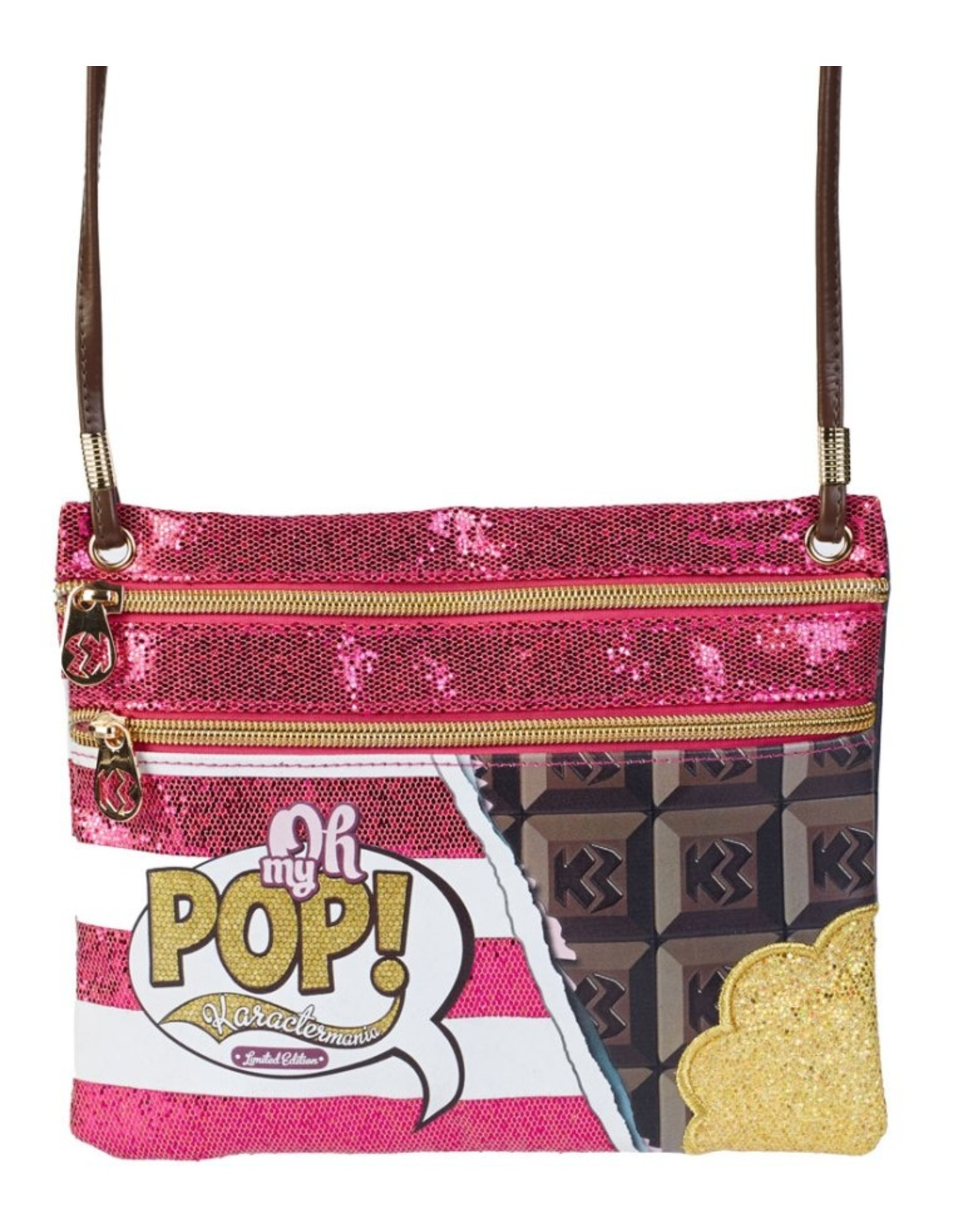 Oh my Pop! Fantasy tassen en portemonnees - Oh My Pop! Chocola schoudertas