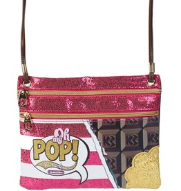 Oh my Pop! Oh My Pop! Chocolate shoulder bag