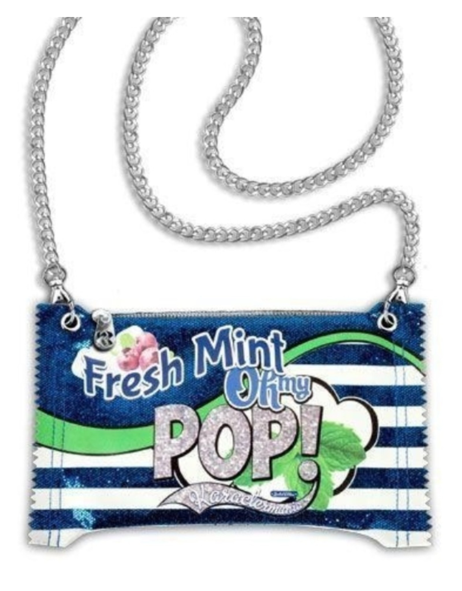 Oh my Pop! Fantasy tassen en portemonnees - Oh My Pop! Fresh Mint Bubblegum schoudertas