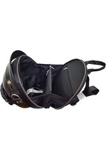 Magic Bags Fantasy bags and wallets - Motorbike helmet backpack-shoulder bag (black)