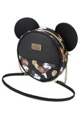 Katactermania Disney tassen - Mickey The True Original ronde schoudertas